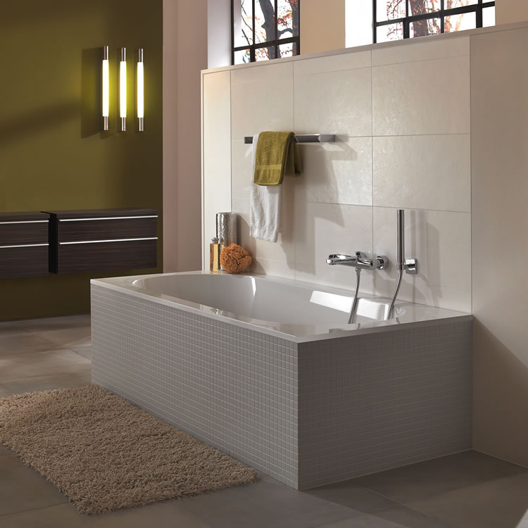 Photo of Villeroy and Boch Oberon Solo 1700 x 750mm Single Ended Bath