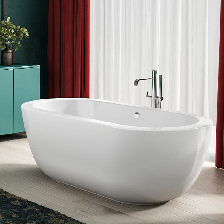 Lifestyle Photo of Charlotte Edwards 1700mm Olympia Contemporary Freestanding Bath
