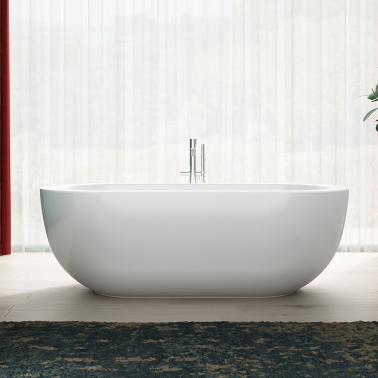 Lifestyle Photo of Charlotte Edwards 1800mm Olympia Contemporary Freestanding Bath