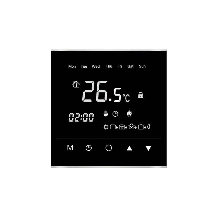 Photo of Redroom By Barwick Black TouchPlus Thermostat Control Cutout