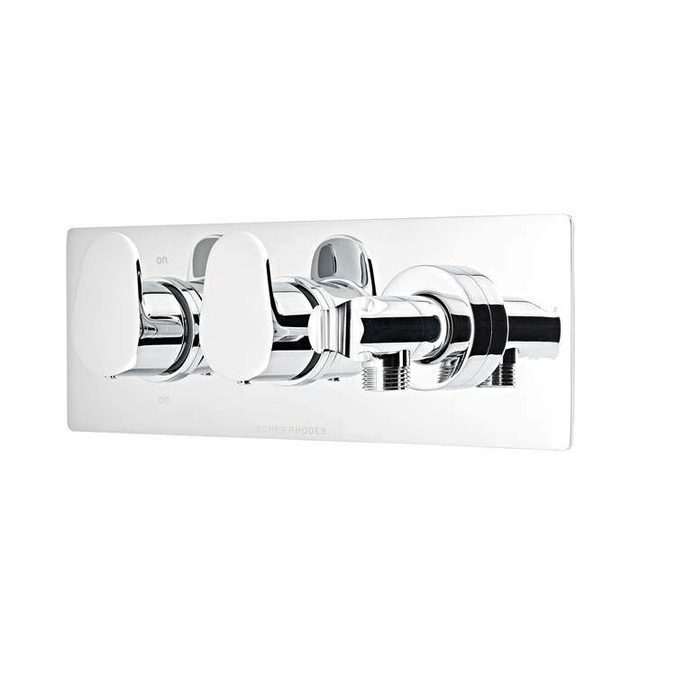 Photo of Roper Rhodes Clear Thermostatic Dual Function Valve with Handset Outlet