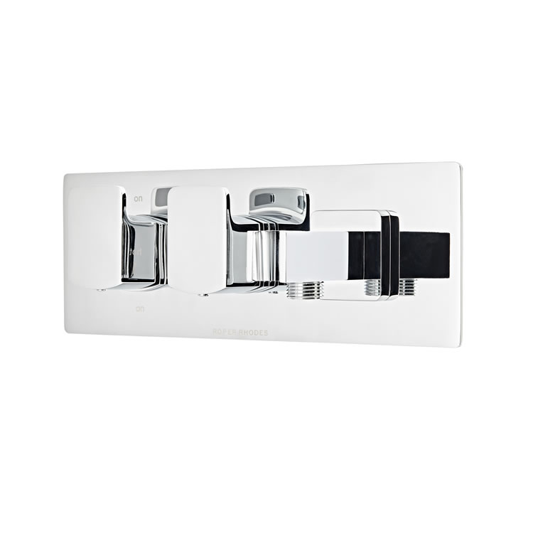 Photo of Roper Rhodes Scape Thermostatic Dual Function Valve with Handset Outlet