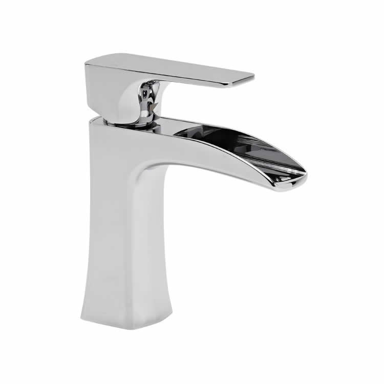 Roper Rhodes Sign Open Spout Basin Mixer with Waste