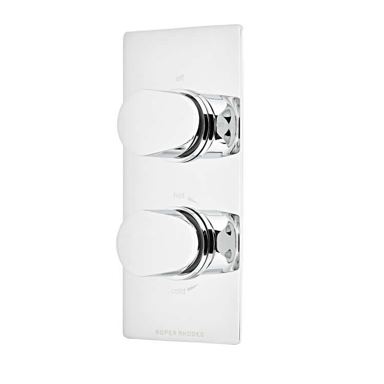 Roper Rhodes Clear Thermostatic Single Function Shower Valve