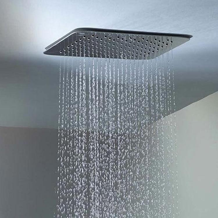 Roper Rhodes Square 300mm Ceiling Mounted Shower Head - Image 1