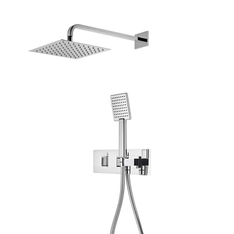 Roper Rhodes Elate Dual Function Shower with Fixed Head & Handset