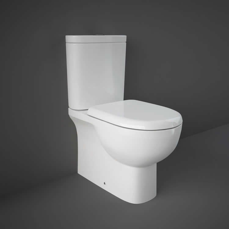 Photo of Rak Tonique Flush to Wall WC with Soft Close Seat