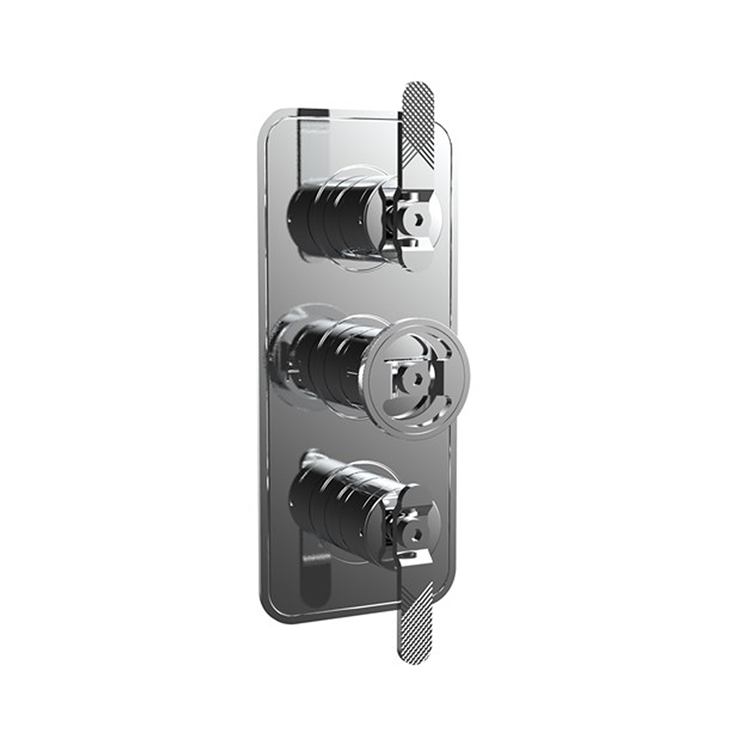 Photo of Crosswater Union Chrome Lever Shower Valve With 2 Way Diverter
