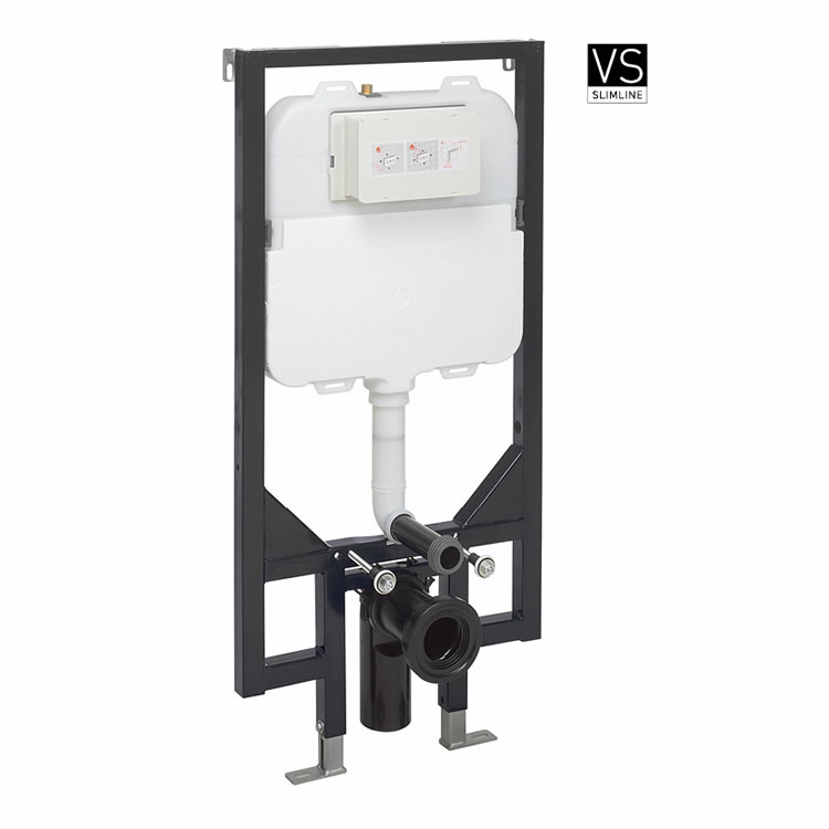 Photo of Crosswater 1.18m Ultra Slim Wall Hung WC Support Frame