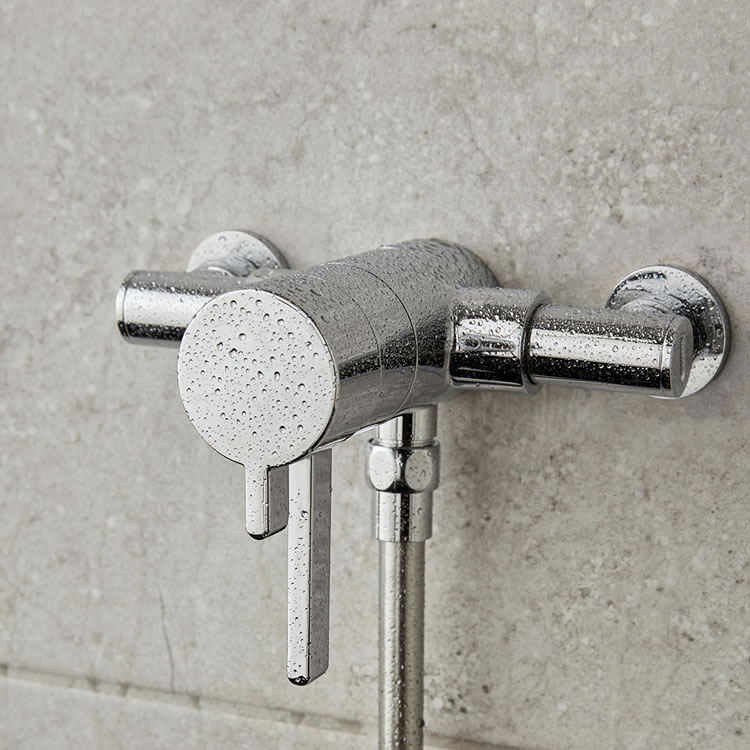 Photo of Vado Celsius Mini Single Outlet Exposed Shower Valve Lifestyle Image