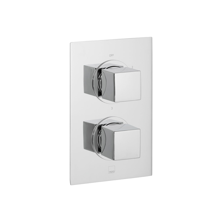 Photo of Vado Mix2 3 Outlet Thermostatic Shower Valve