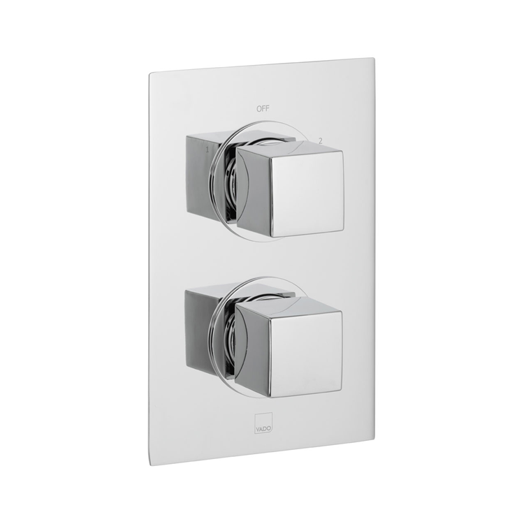 Photo of Vado Mix2 Two Outlet Thermostatic Shower Valve