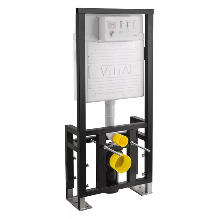 Vitra WC Frame For Wall Hung WC - Floor Mounted - Regular 12cm Depth