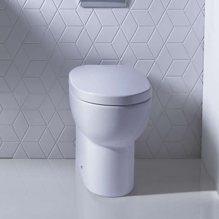 Roper Rhodes Zest 500mm Back To Wall WC & Seat - Image 1
