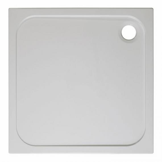 Simpsons Square 760mm 45mm Stone Resin Shower Tray