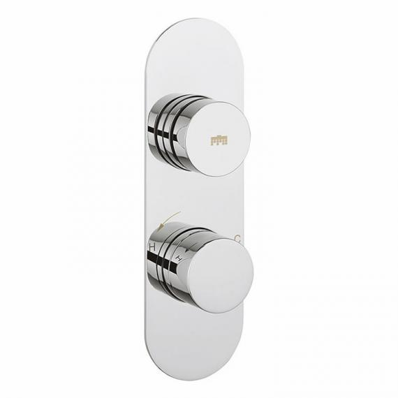 Crosswater Dial Shower Valve 1 Control with Central Trim