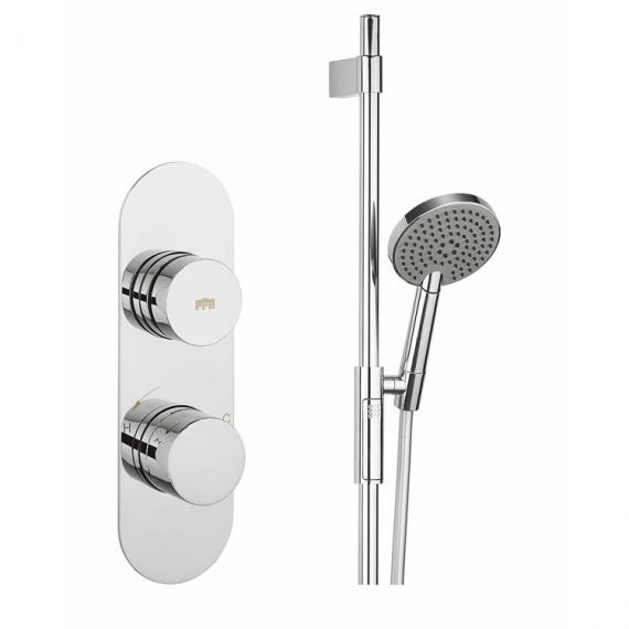 Crosswater Dial Valve 1 Control, Central Trim & Ethos Shower