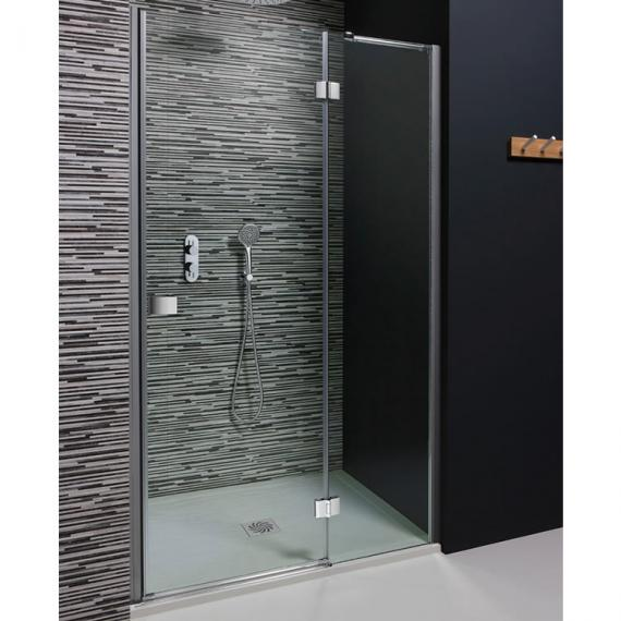 Powershower Proof Frameless Shower Door Sanctuary Bathrooms