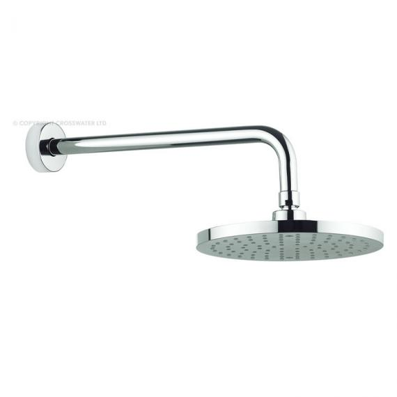 Adora Fusion 200mm Round Fixed Shower Head & Arm