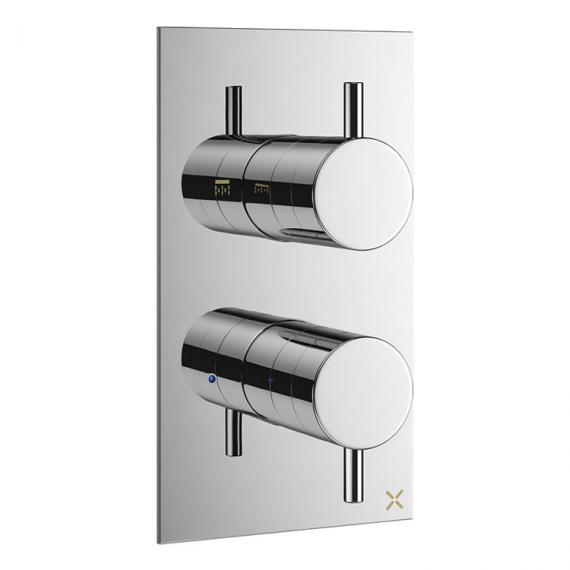 Crosswater Mike Pro Chrome Thermostatic Shower Valve & Diverter