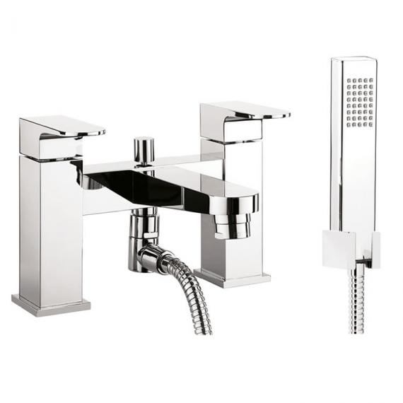 Crosswater Modest Bath Shower Mixer With Kit - MO422DC