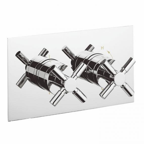 Crosswater Totti Thermostatic Shower Valve 2 Way Diverter