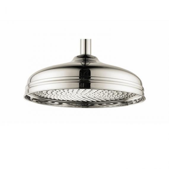 Crosswater Belgravia 300mm Nickel Fixed Shower Head