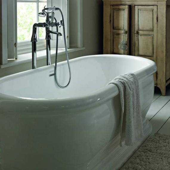 Heritage Derrymore 1745mm Double Ended Roll Top Acrylic Freestanding ...