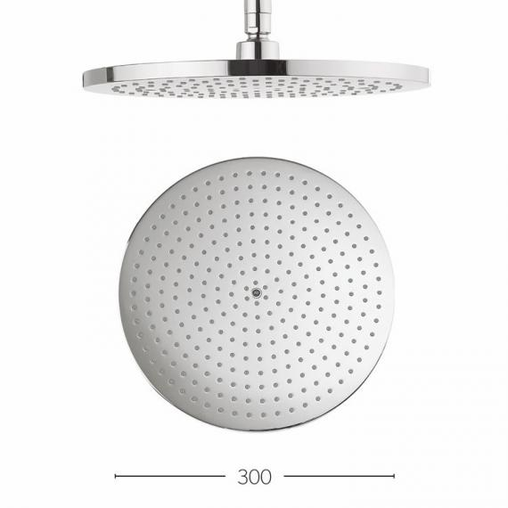 Crosswater Central 300mm Round Fixed Shower Head
