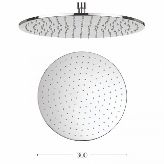 Crosswater Contour 300mm Fixed Shower Head
