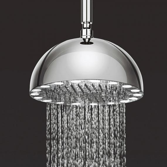 Crosswater Dynamo White LED Luxury Fixed Shower Head
