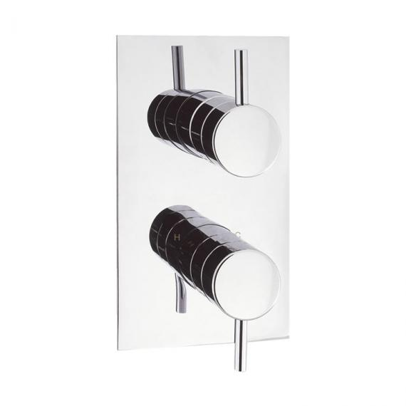 Crosswater Elite Thermostatic Twin Shower Valve With Diverter