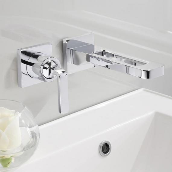 Crosswater Kelly Hoppen Wall Mounted Basin 2 Hole Set
