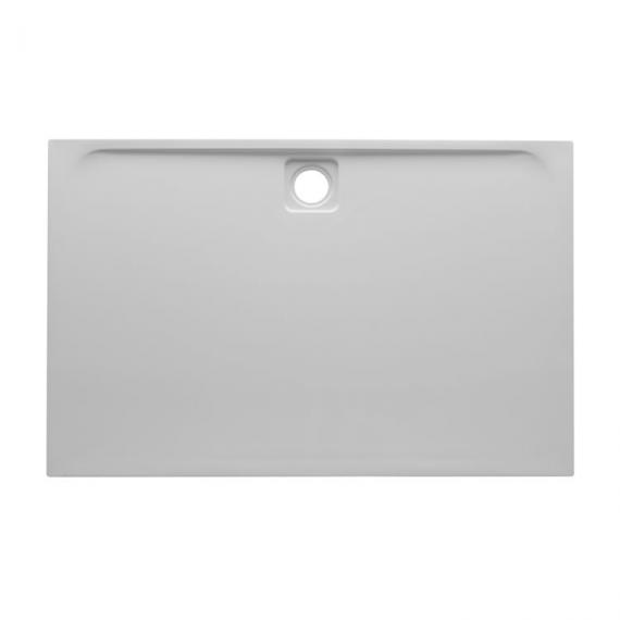 Blu-Gem2 1000 x 800mm Rectangular 25mm Stone Resin Shower Tray Image 2