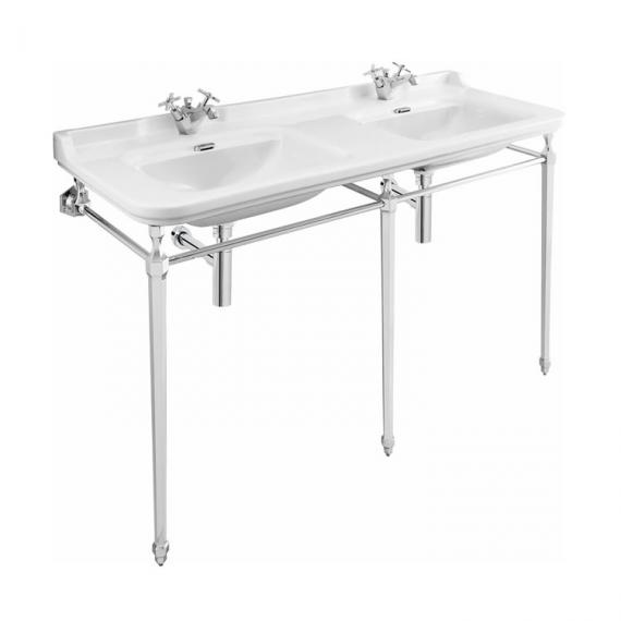 Bauhaus Waldorf 150 Single Tap Hole Double Basin with Console