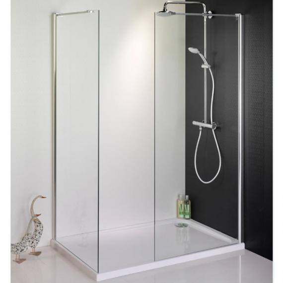 1500 X 800 Walk In Shower Enclosure & Tray