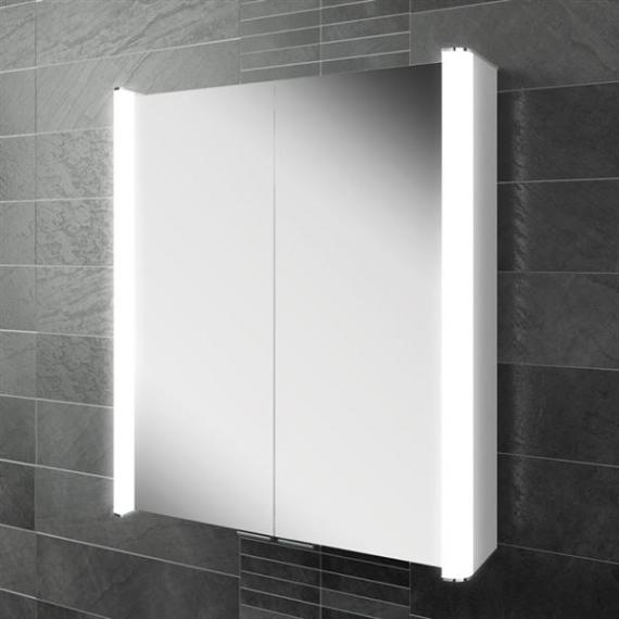 hib bathroom cabinets hib vita 60 led aluminium bathroom cabinet hib 16270