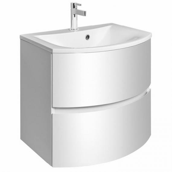 Svelte White Gloss 60 Vanity Unit & Basin