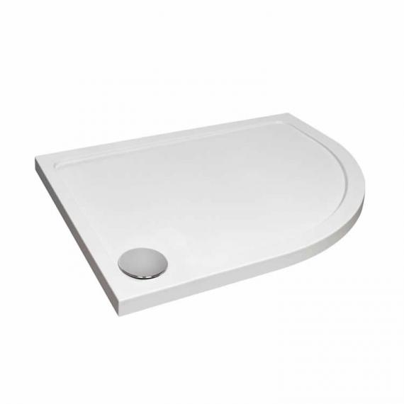 Aquaglass 1200 x 900 Offset Quadrant Shower Tray & Waste
