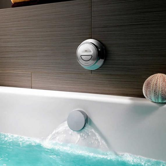 Aqualisa Rise Digital Bath with Overflow Filler