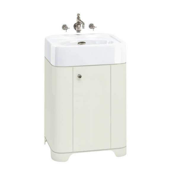 Arcade Sand 600mm Floorstanding Vanity Unit & Basin - 0TH
