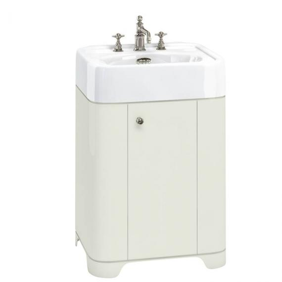 Arcade Sand 600mm Floorstanding Vanity Unit & Basin - 3TH