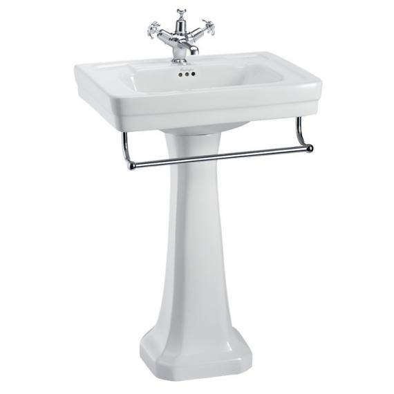 Burlington Contemporary 580 Basin, Pedestal & Rail
