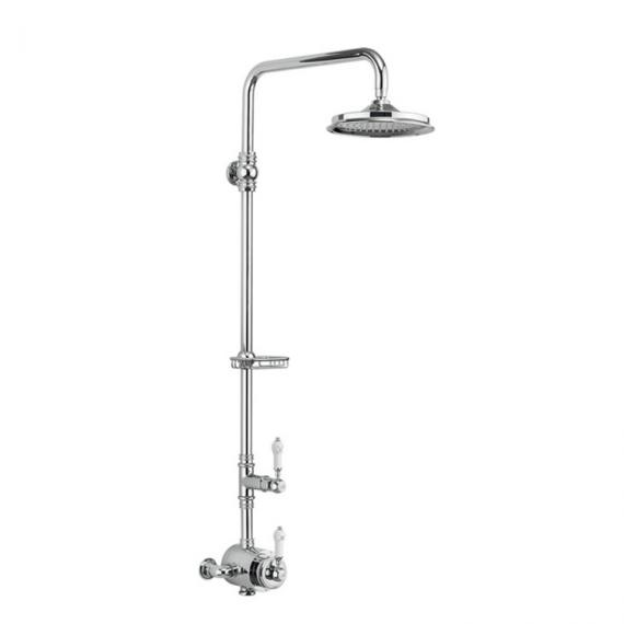 Burlington Stour Exposed Shower Valve & Shower Rose Pack