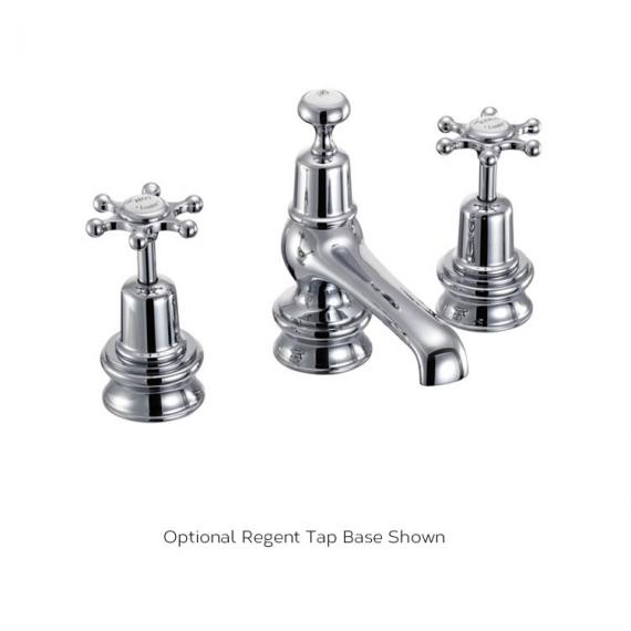 Burlington Birkenhead 3 Tap Hole Basin Mixer Regent Tap Base Image