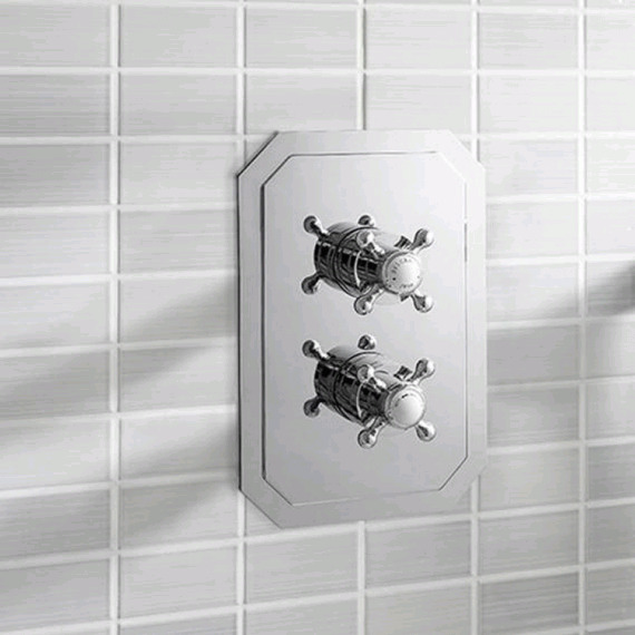 Crosswater Belgravia Crosshead 2500 Thermostatic Shower Valve Slimline Still Image