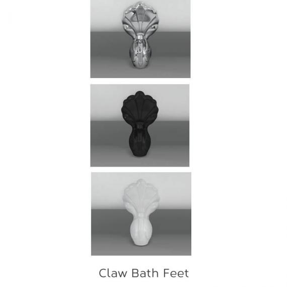 Ball and Claw Bath Feet