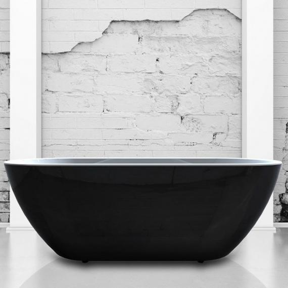 Charlotte Edwards Belgravia Black 1500 Freestanding Bath