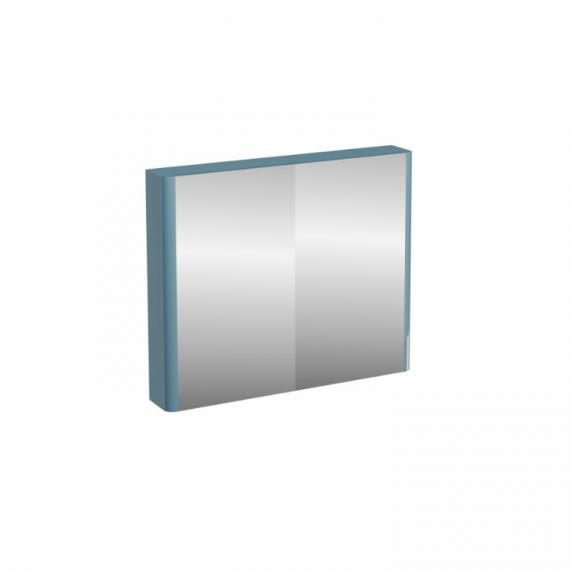 Aqua Cabinets Compact Ocean 900mm Double Door Mirror Cabinet