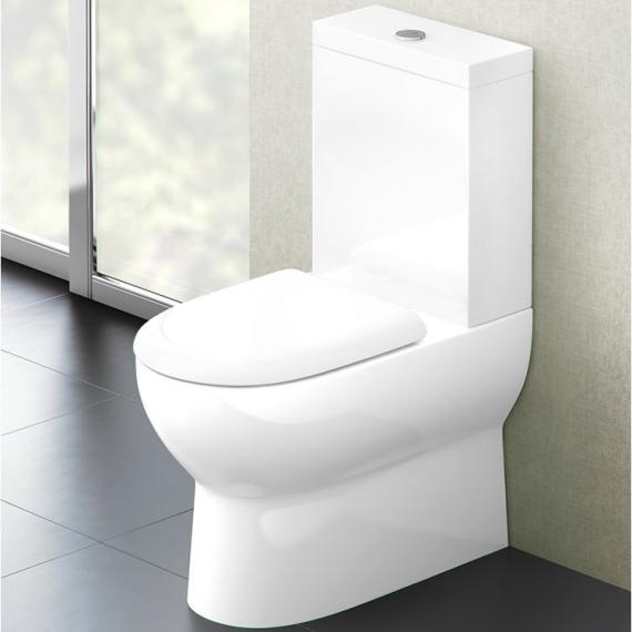 Britton Bathrooms Compact Close Coupled WC & Soft Close Seat - lifestyle